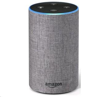 Amazon Echo 2 Heather Grey, hlasový asistent, šedý