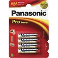 Panasonic LR03 PPG Pro Power Gold alkaline 4BP, 4 ks baterie AAA
