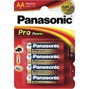 Panasonic LR6 PPG Pro Power Gold alkaline 4BP, 4 ks baterie AA